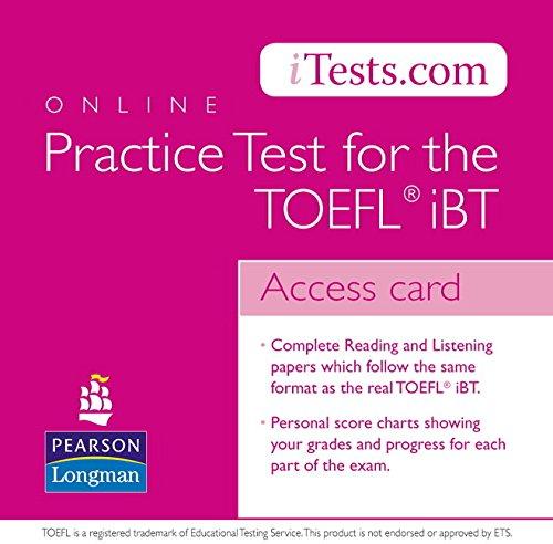 9780132145787: TOEFL iTest Voucher (Itests.com)