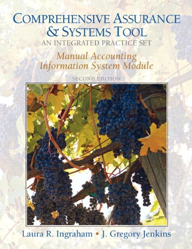 9780132146579: Manual AIS Practice Set for Comprehensive Assurance & Systems Tool (CAST)-Integrated Practice Set (2nd Edition)