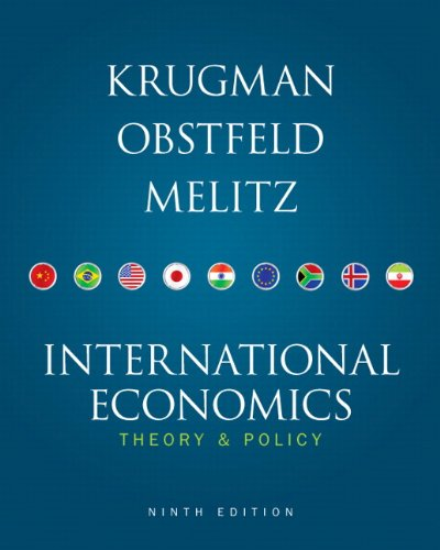 9780132146654: International Economics: Theory and Policy, 9th Edition