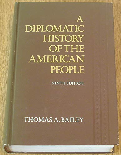 9780132147187: A diplomatic history of the American people