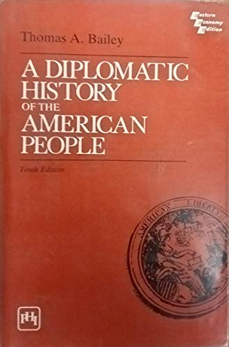 9780132147262: A Diplomatic History of the American People