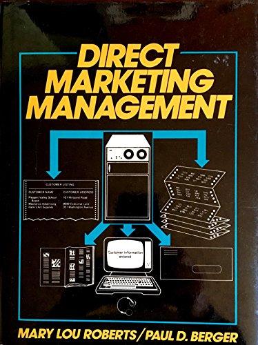 9780132147842: Direct Marketing Management