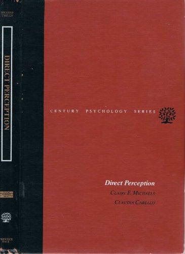 9780132147910: Direct Perception (Century psychology series)