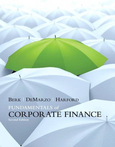 9780132148238: Fundamentals of Corporate Finance (Prentice Hall Series in Finance)