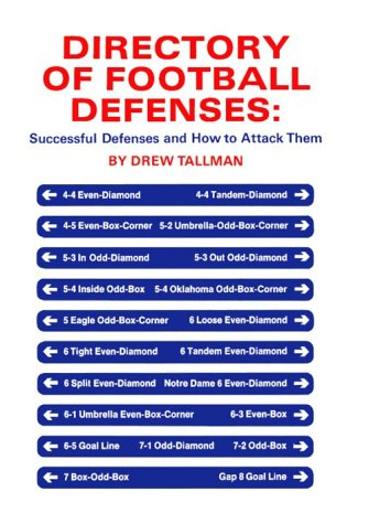 9780132148412: Directory of football defenses: Successful defenses and how to attack them