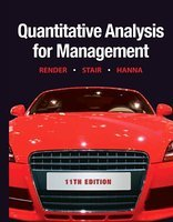9780132148887: Instructor's Solutions Manual Quantitative Analysis for Management