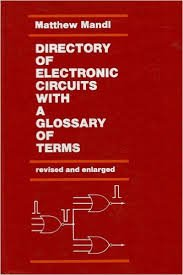 9780132149242: Directory of Electronic Circuits: A Glossary of Terms