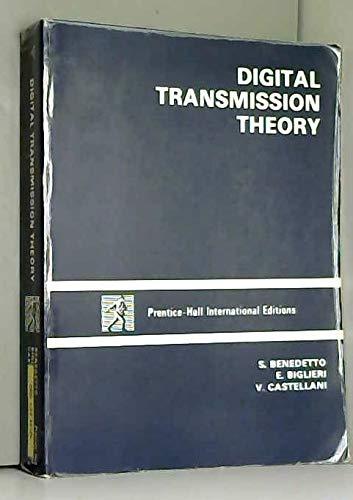 9780132150620: Digital Transmission Theory