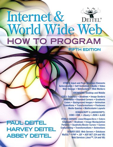 9780132151009: Internet and World Wide Web How To Program (5th Edition)