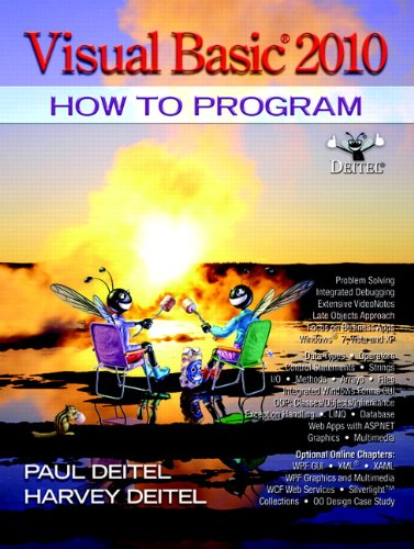 9780132152136: Visual Basic 2010 How to Program (Pearson Custom Computer Science)