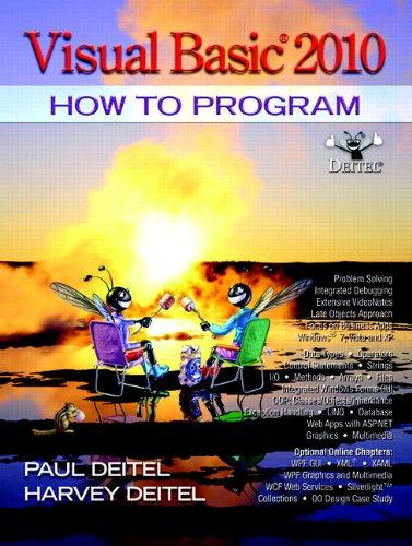 9780132152136: Visual Basic 2010 How to Program (5th Edition) (Pearson Custom Computer Science)