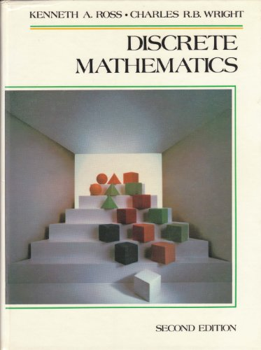 9780132154277: Discrete Mathematics