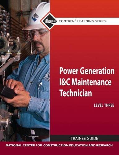 9780132154345: Power Gen I&C Maint Tech Lev 3 TG