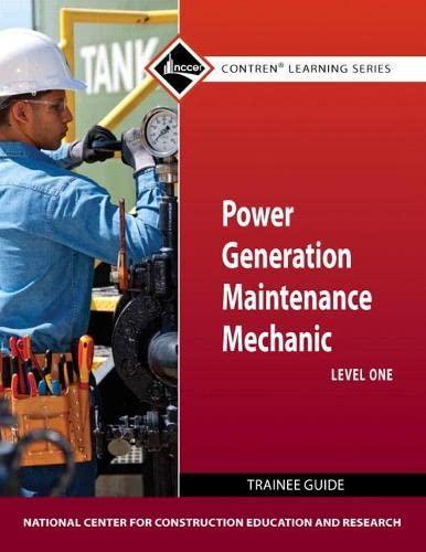 9780132154390: Power Gen Maint Mech Lev 1 TG