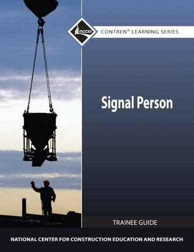 9780132154543: Signal Person Trainee Guide (Contren Learning)