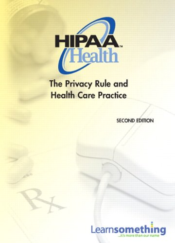 9780132154888: HIPAA Health: The Privacy Rule and Health Care Practice (CD-ROM version) (2nd Edition)