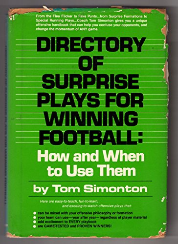 9780132155588: Directory of surprise plays for winning football: How and when to use them
