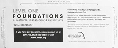 Exam Voucher for Foundations of Restaurant Management: Association Solutions National