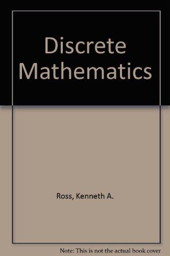 9780132157162: Discrete Mathematics