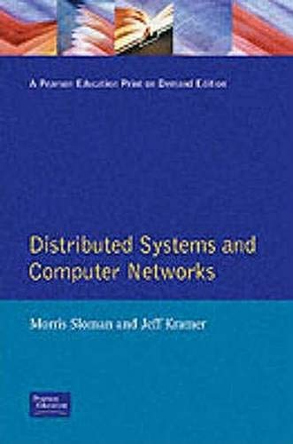 9780132158497: Distributed Systems and Computer Networks (Prentice-Hall International Series in Computer Science)