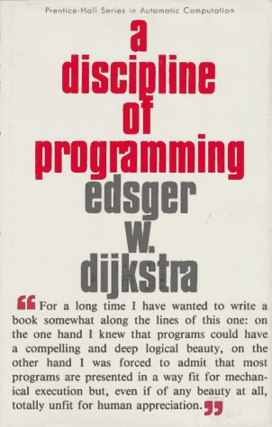 9780132158718: A Discipline of Programming