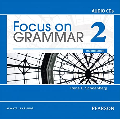 9780132160506: Focus on Grammar 2 Classroom Audio CDs
