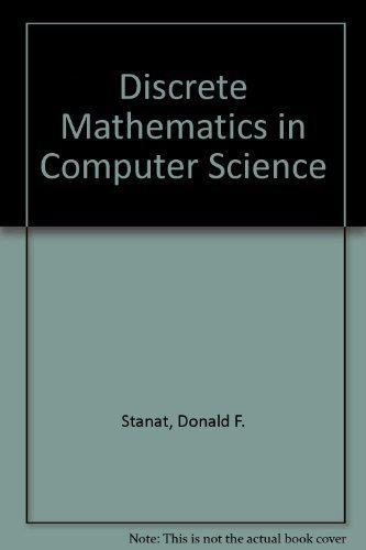 9780132160520: Discrete Mathematics in Computer Science