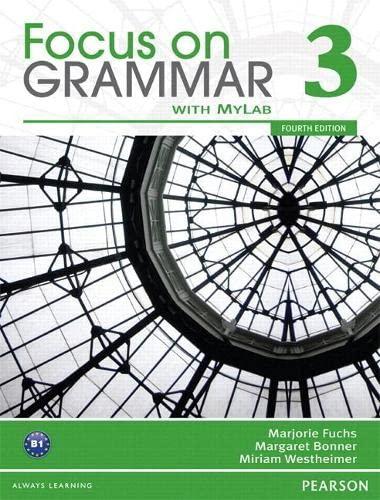 9780132160599: Focus on Grammar 3A Split: Student Book with MyLab English
