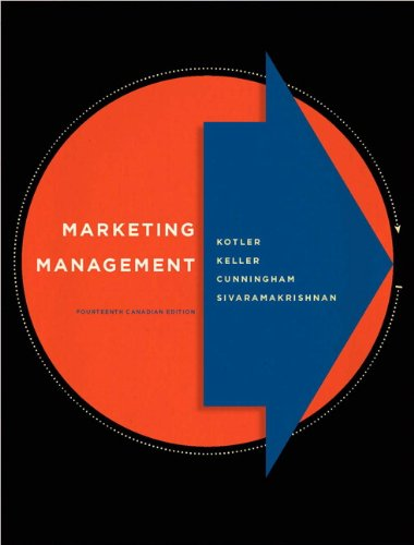 9780132161077: Marketing Management, Fourteenth Canadian Edition (14th Edition)
