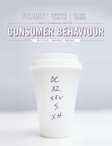 9780132161114: Consumer Behaviour: Buying, Having, and Being, Sixth Canadian Edition (6th Edition)