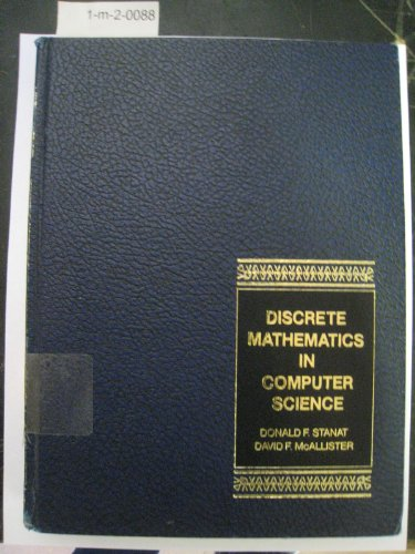 9780132161503: Discrete Mathematics in Computer Science