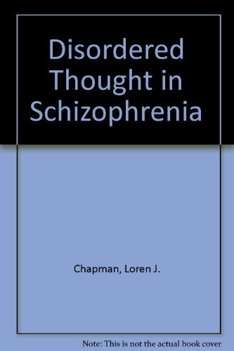 9780132161923: Disordered Thought in Schizophrenia