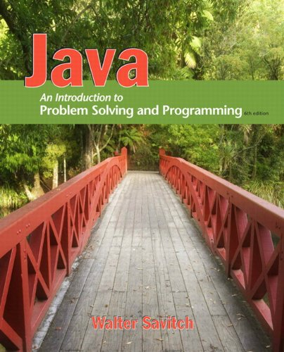 9780132162708: Java: An Introduction to Problem Solving and Programming (6th Edition)
