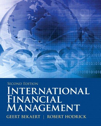 9780132162760: International Financial Management (Prentice Hall Series in Finance)