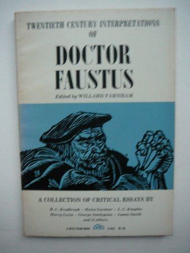 9780132162913: Twentieth century interpretations of Doctor Faustus : a collection of critical essays.