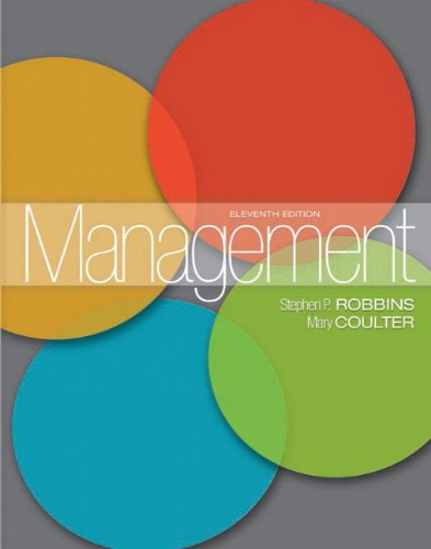 Management (11th Edition) (MyManagementLab Series): Robbins, Stephen P.; Coulter, Mary