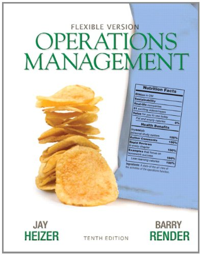 9780132163927: Operations Management Flexible Version (10th Edition)