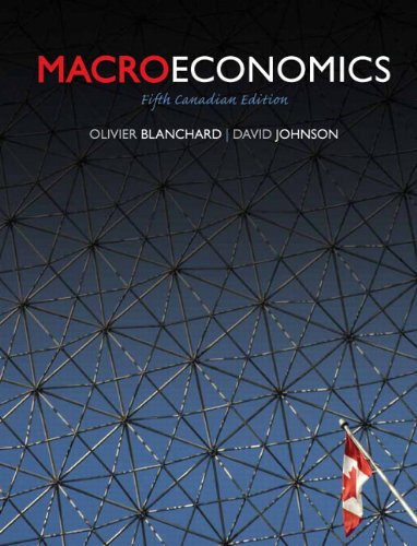 9780132164368: Macroeconomics, Fifth Canadian Edtion (5th Edition)