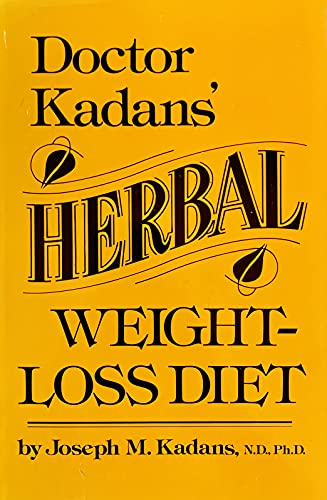 9780132165235: Doctor Kadans' Herbal Weight Loss Diet