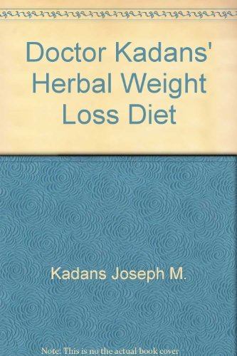9780132165310: Doctor Kadans' Herbal Weight Loss Diet