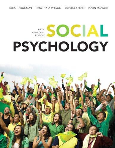 Social Psychology: Elliot Aronson (Author),