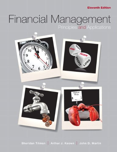 9780132165891: Financial Management: Principles and Applications Plus Myfinancelab Package (Pearson Custom Business Resources)