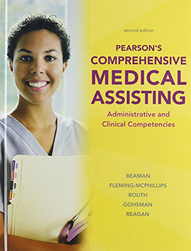 9780132166126: Pearson's Comprehensive Medical Assisting and Workbook for Pearson's Comprehensive Medical Assisting Package (2nd Edition)