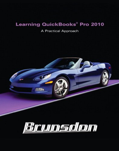 9780132166584: Learning Quickbooks Pro 2010 and QuickBooks 2010 Software
