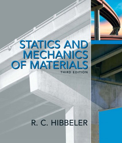 9780132166744: Statics and Mechanics of Materials (3rd Edition)