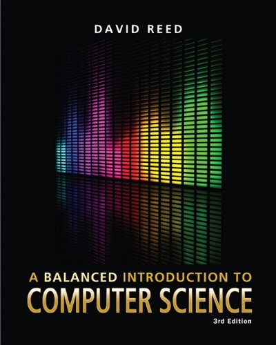9780132166751: A Balanced Introduction to Computer Science (3rd Edition)