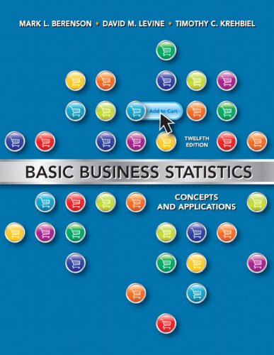 9780132168380: Basic Business Statistics: Concepts and Applications,  12th Edition
