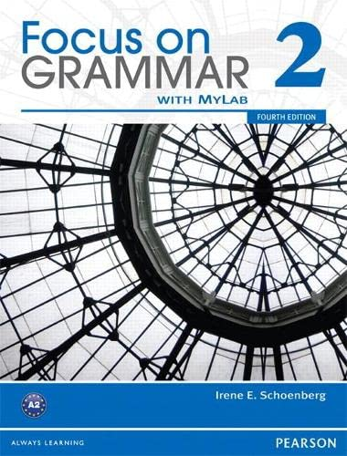 9780132169271: Focus on Grammar 2B Split Student Book with MyLab English