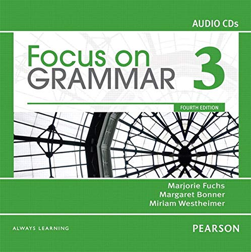 9780132169356: Focus on Grammar 3 Classroom Audio CDs