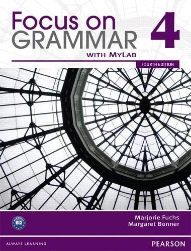 9780132169660: Focus on Grammar Split 4B with MyLab English